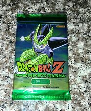 Dragon ball Z Perfection Trading Card booster Pack Of 12 cards SEALED collect