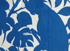 BRUNSCHWIG & FILS Boca Chica Royal Blue Cotton Linen Remnant New