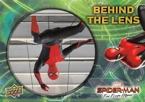 Spider-Man Far From Home Movie BEHIND THE LENS Trading Card Insert BTL-7