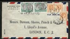 ST KITTS & LEEWARD ILDS, STAMPS USED ON 1944 CENSORED COVER TO UK, 2/9d RATE