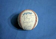 1992 Minnesota Twins team autographed baseball 27 nice signatures Mint !