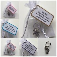 Lucky Angel Keepsake Gift - May She Bring Good Luck, Health, News And Fortune..