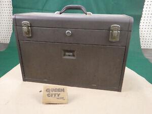 vintage Kennedy 520 machinist tool chest/box 7 drawer Nice Original