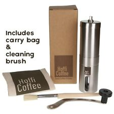 Manual Hand Burr Coffee Bean Spice Grinder Stainless Steel Adjustable Coarseness
