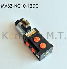 Hydraulik Magnetventil 6/2-Wegeventil NG10 12V DC, Leckölanschluss inkl. Stecker