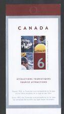 CANADA BOOKLET BK294MNH 6 x 49c TRAVERSEE INTERNATIONALE de LAC-ST-JEAN