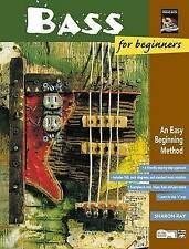 Bass for Beginners: An Easy Beginning Method, Book & Enhanced CD by Sharon Ray
