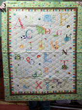 A to Z Baby Quilt! Handmade! NEW!