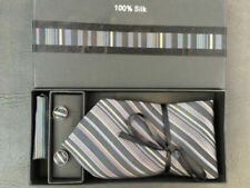 Striped 100% Silk Ties for Men