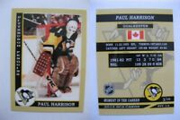 2015 SCA Paul Harrison Pittsburgh Penguins goalie never issued produced #d/10