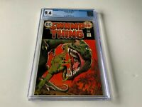 SWAMP THING 12 CGC 9.6 WHITE PAGES DINOSAUR COVER DC COMICS 1974