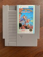 Ikari Warriors II 2 Victory Road Nintendo Nes Cleaned & Tested Authentic