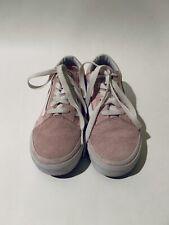 Vans Us Size 1 Kids Old Skool Chalk Pink Suede/Canvas