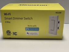 Smart Light Switch 3-Way WiFi Dimmer Minoston  works with Amazon Alexa & Google