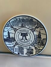 Vintage Early 1980's Philadelphia Pennsylvania State Souvenir Collector Plate