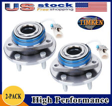 TIMKEN Set(2) Front Wheel Hub Bearing Assembly for Chevy Pontiac w/ ABS 513121