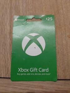 Microsoft Xbox Gift card £25