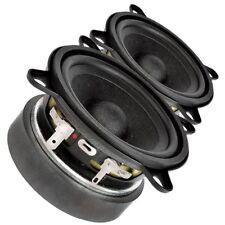 """Pair Faital PRO 3FE25 3"""" Midrange full-range Woofer Speaker 8 ohms 40W 91dB"""