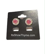 Horse Show Earring, Pageant Earring, Fashion Earrings - Rose