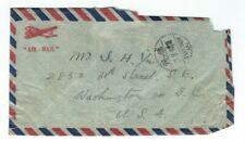 CHINA / STAMPS ON AIRMAIL COVER Foo Chow to Washington DC Sun Yat-Sen