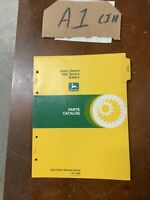 John Deere Parts Catalog Manual PC - 1528 466 Series Balers