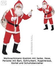 flanella Babbo Natale Costume Completo Costume Babbo Natale M/L