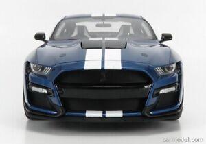 GT SPIRIT :1/12 2020 SHELBY GT500 MUSTANG - BLUE