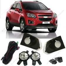 Bumper Bezel Fog Lights Driving Lamp Harness For Chevy Chevrolet Trax 2013-2016