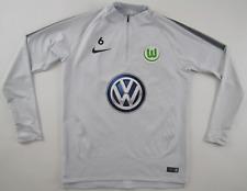 VfL Wolfsburg #6 2017/18 matchworn Pullover Jacke Spielertrikot Nike VW Gr.M