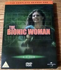 The Bionic Woman - Complete Season 1 (DVD 2005) 4 DVDs, 13 Episodes