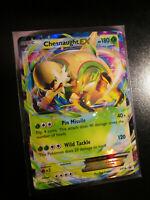 NM Pokemon CHESNAUGHT EX Card BLACK STAR PROMO Set XY18 Ultra Rare Kalos Power