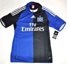 2008-10 HSV Trikot Gr. S Hamburg Adidas Originals blau schwarz away Jersey NEU