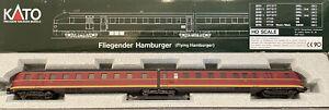 Spur H0 Kato 30703-1 Triebwagenzug SVT 04 000a Fliegender Hamburger Neu OVP