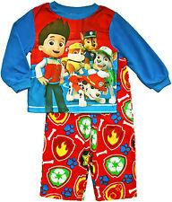 Nickelodeon Boys Toddler Paw Patrol Fleece Long Sleeve 2-Piece Pajama Set 2T