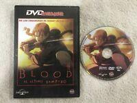 BLOOD EL ULTIMO VAMPIRO GHOST IN TNE SHELL DVD ANIME