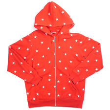 SUPREME 09AW Star Zip Up Hoodie RED XL