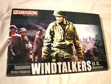 1/35 Dragon 3 Us Marines & 4 Japanese Soldiers 2 Marines Missing & No Weapons