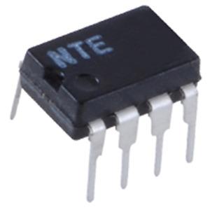 NTE Electronics NTE858M IC DUAL LOW NOISE JFET INPUT OPERATIONAL AMPLIFIER 8 LEA