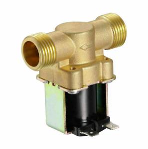 DC 12V 1/2 Zoll N/C Messing Elektrisches Magnetventil Magnetische Wasser Ventil