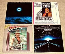 Action Movie Org.Issue LP's:Batman/Planet of Apes/Indiana Jones/Close Encounters