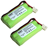 2x HQRP Battery for AT&T EL52201 EL52251 EL52301 EL52351 EL52401 Cordless Phone