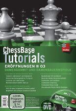 ChessBase Tutorials Eröffnungen 3 - Schach NEU OVP