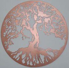 Tree of Life Metal Art, Color: Copper, Wall Decor