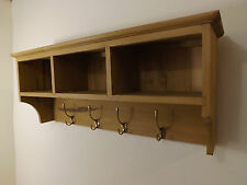 "Waxed pine coat rack made by our own carpenter. 36""W"