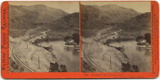 Watkins' Pacific Railroad stereoview # 302 (1860's) Pleasant Valley looking east