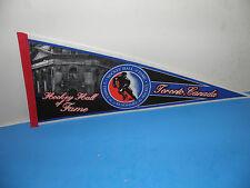 NHL Hockey Hall of Fame Toronto Canada Logo Pennant 12 X 30
