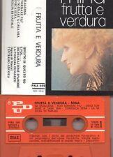 MINA musicassetta originale 1973 MADE in ITALY  MC K7 FRUTTA E VERDURA