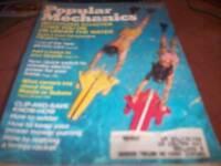 Popular Mechanics July 1974  Motorized Water Scooters