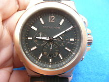 New Old Stock MICHAEL KORS Dylan MK8184 Chronograph Quartz Men Watch