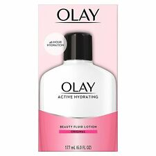 Olay - Active Hydrating Beauty Fluid Lotion, Original, 6oz